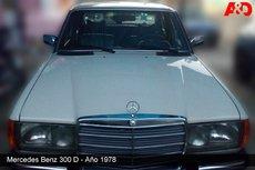 Mercedes Benz 300D, Año 1978