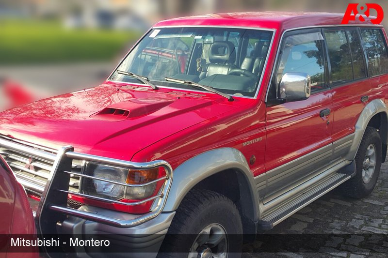 Mitsubishi Montero Intercooler Turbo Diesel 2.8