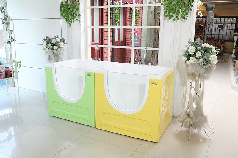 single glass,arcylic baby bathtub