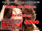 Mascara Capilar + Brushing $590.